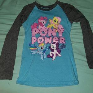 Little girls long sleeve t shirt Medium